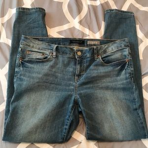 Aeropostale jegging jeans medium light wash